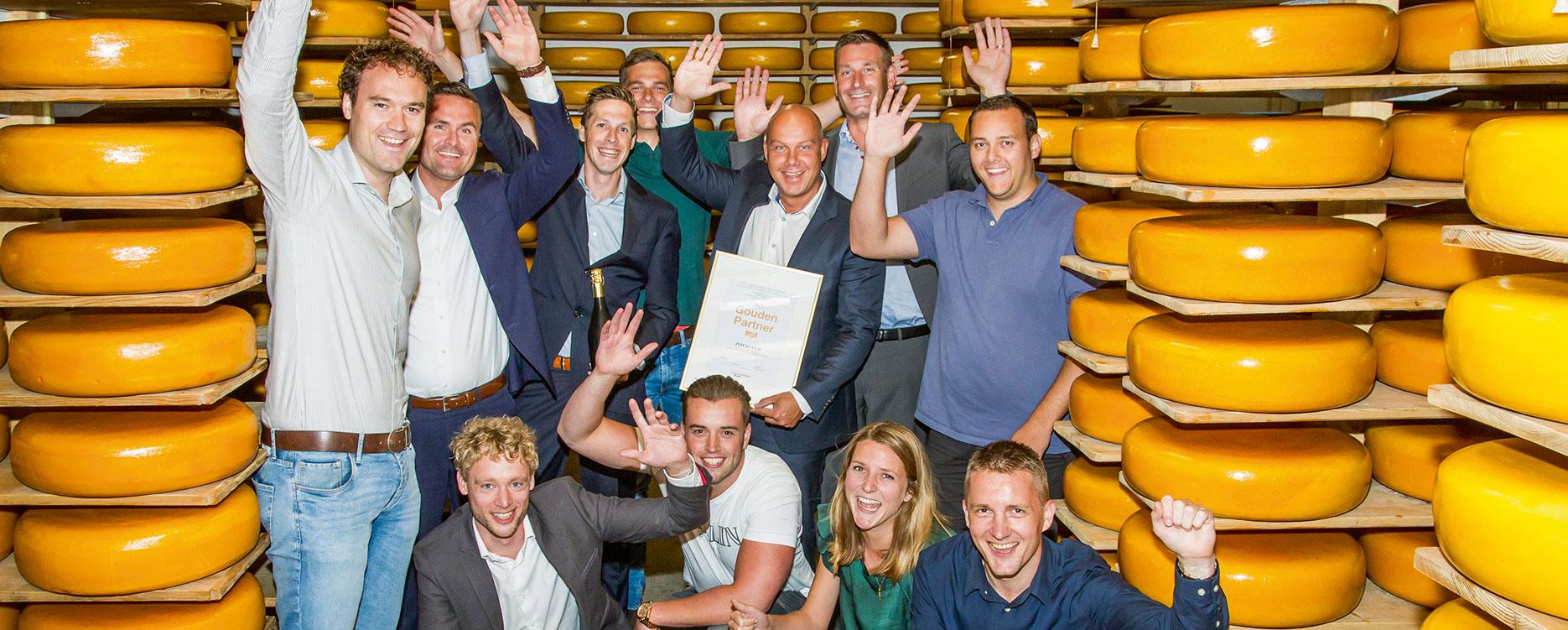 Zijerveld uitgeroepen tot Gouden Partner 2017