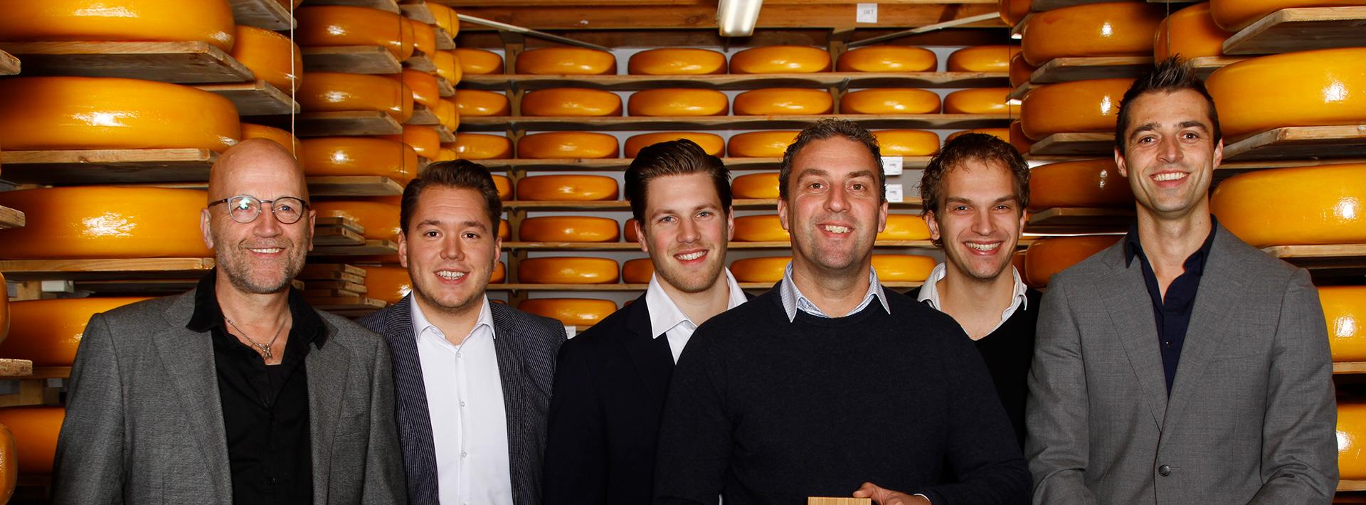 Zijerveld nummer 1 buitendienst in categorie zuivel, kaas en geelvetten